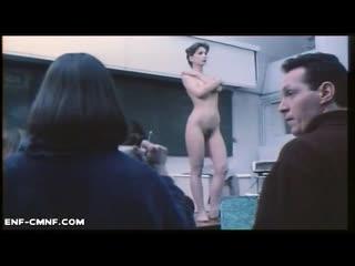 OON, CMNF, CFNF, отрывок с голой арт-моделью из французского фильма
