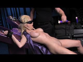 Pandemonium [Emily Addison, Hot Wax] Wax Play, Bondage, Submission, Domination, Masturbation, Blonde, BDSM, Latex, Tickling