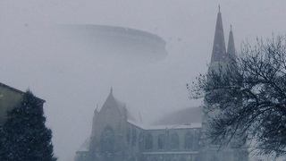 👽 Huge UFO Over Church In Pennsylvania (CGI)