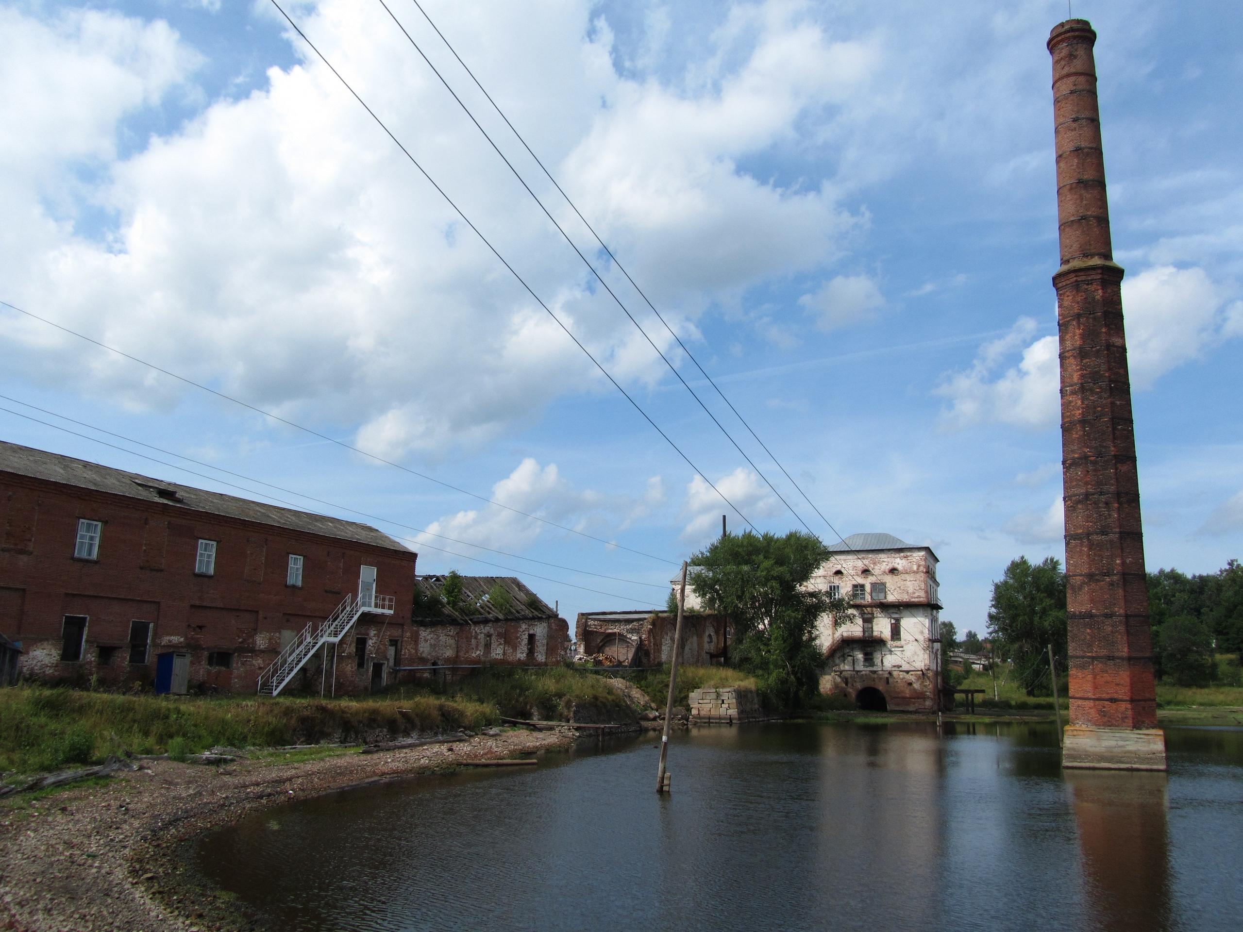 Старинный пожвинский железоделательный завод