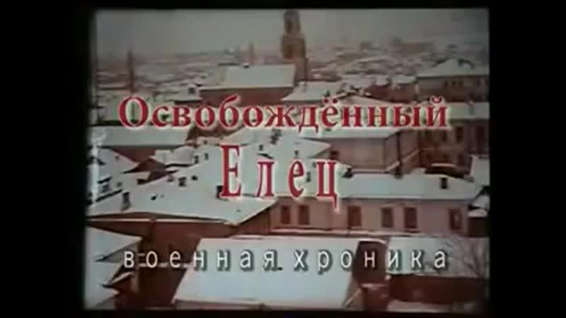 Освобождённый Елец Военная хроника