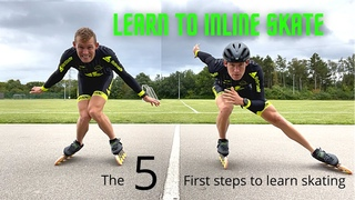 The 5 Rules of good skating - Become a fast inline skater in one day!