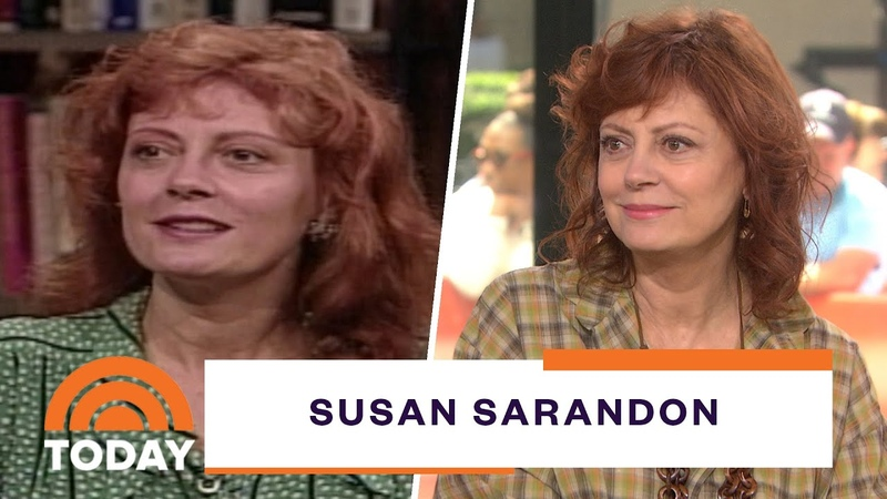 Susan Sarandon On Filming 'Thelma Louise Pingpong And 'Feud Today