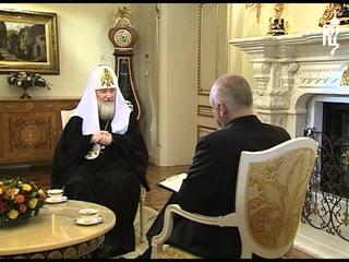 Пасхальное интервью Патриарха Кирилла