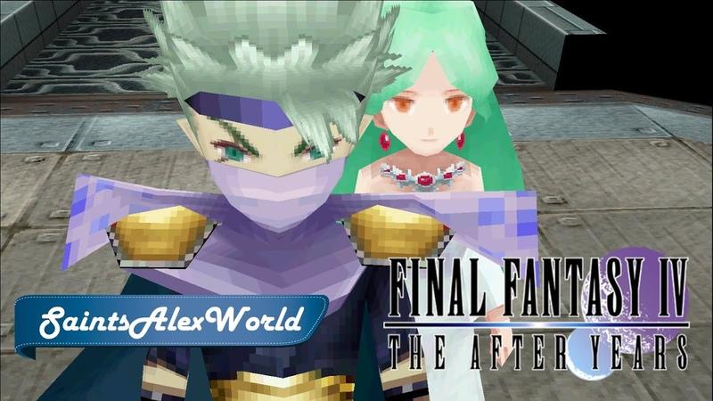 Final Fantasy IV The After Years PC Прохождение на русском 10 История Эджа Вавилонская башня