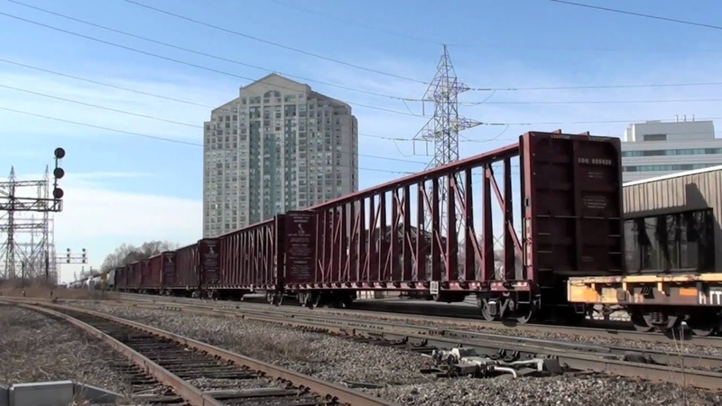 [FPON] Railfanning Kipling GO station. 2/20/2011 [MUST SEE CP 240 CP 242!]