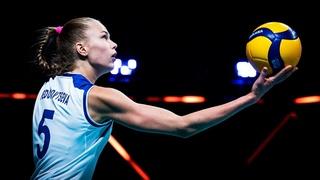 17-летняя ЗВЕЗДА Российского Волейбола / Арина Федоровцева