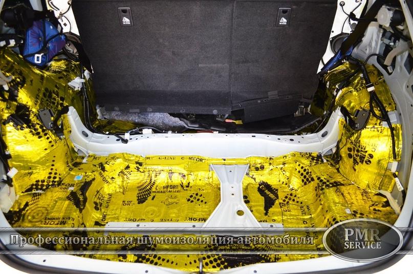Комплексная шумоизоляция Lexus NX 200, изображение №10