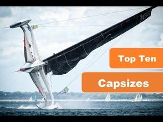 Sailing Fails 2017 Capsize Compilation!