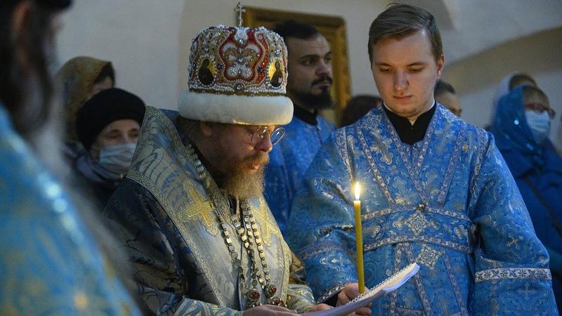 Литургия древнерусским чином в праздник Покрова Пресвятой Богородицы
