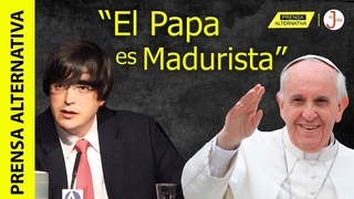 ¿Por qué Jaime Bayly no tolera cercanía entre El Papa y Venezuela?