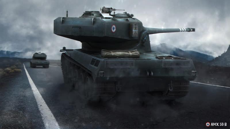AMX 50 B DEFEAT DENIED World of Tanks 720p