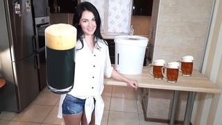 СВАРИЛА МУЖУ ПИВО В ДОМАШНИХ УСЛОВИЯХ варим пиво из ЭКСТРАКТА