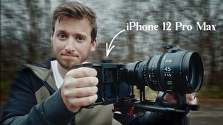 Using The iPhone 12 Pro Max As A Cinema Camera?! WOAH!