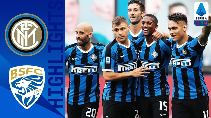 Inter 6 0 Brescia Young and Eriksen Score as Brilliant Inter put SIX past Brescia Serie A TIM