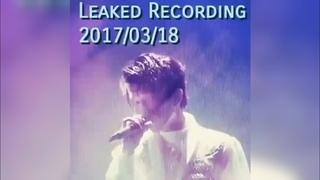 Leaked audio of Dimash singing like a bird