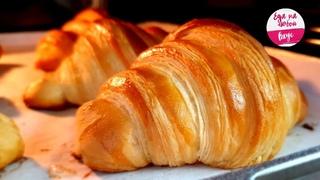Круассаны, как в Пекарне! Они Божественно вкусные - Слоеные и Хрустящие, самые настоящие