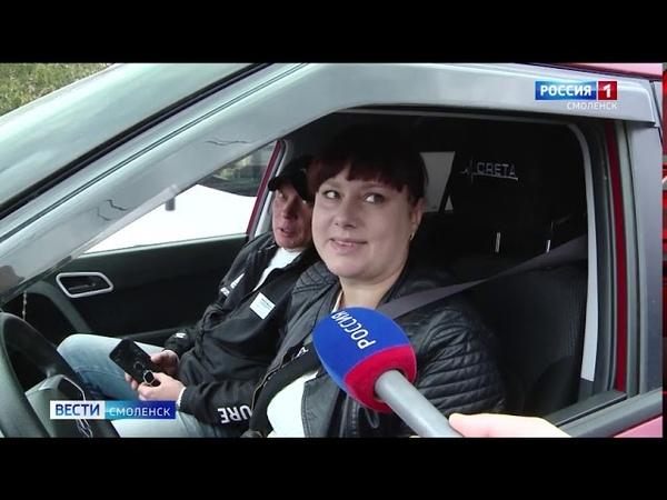 Неразумный дорожный ремонт на Попова привел к километровым пробкам в Смоленске