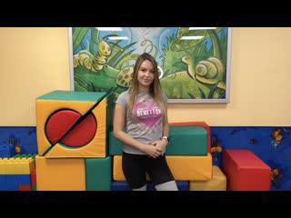 Видео-визитка инструктора детского клуба Окридж Фитнес Виктория Краснобаева
