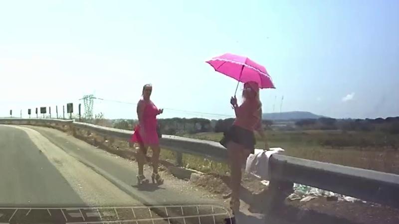 жрицы любви на дорогах Италии