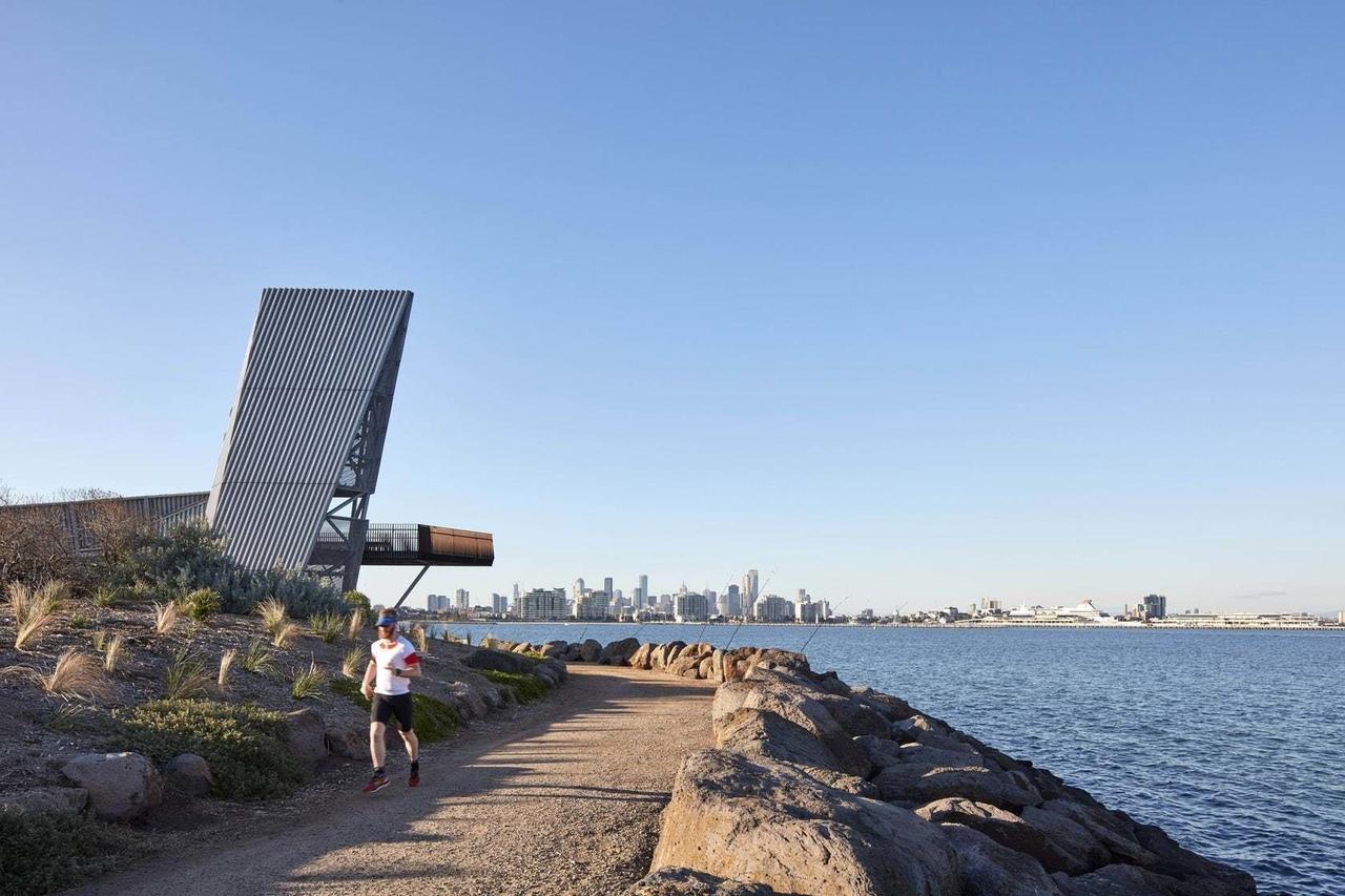 Sandridge Lookout in Melbourne, Australia by Cox Architecture