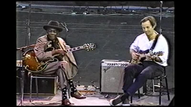 John Lee Hooker and Ry Cooder 1992 10 10 Shoreline Amphitheatre Mountain View