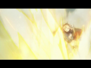 Fate Zero - Небесный фантазм Сейбер сносящий крепости Экскалибур