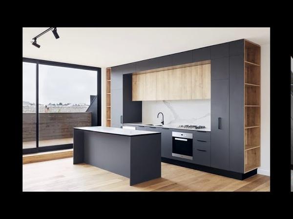 Кухни с фасадами софт тач