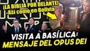 Visita de Fiscal de EEUU a la Basílica de Guadalupe ¡Es mensaje del Opus Dei