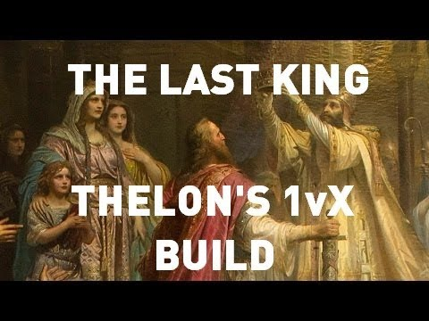ESO PvP The Last King Thelon's 1vX Build Clockwork City
