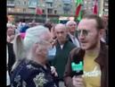 Бабушка на митинге за: У моих детей карта Поляка. Сын работает за границей. Но все за Лукашенко!