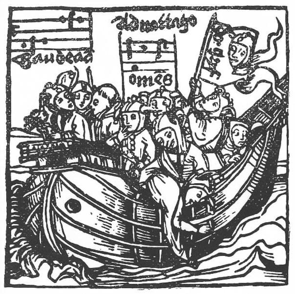«Кора́бль дурако́в» (нем Narrenschiff) сатирико-дидактическая поэма выдающегося немецкого гуманиста Себастьяна Бранта.Своей известностью Брант менее обязан многочисленным латинским