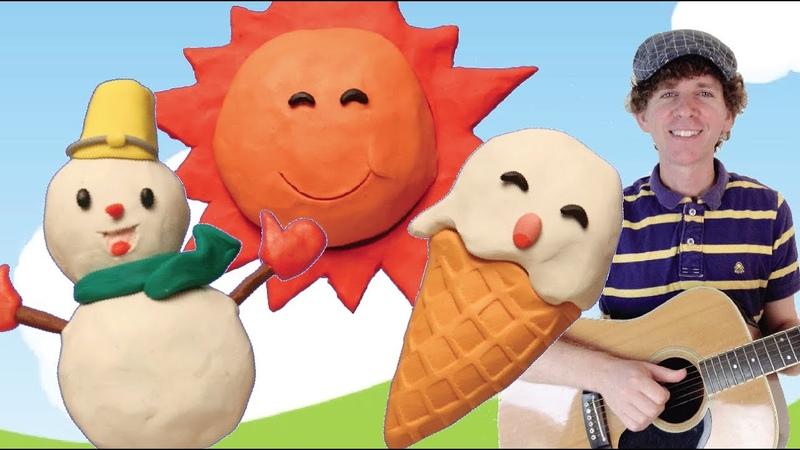 Seasons Song for Children Learn Four Seasons Preschool Kindergarten Learn English