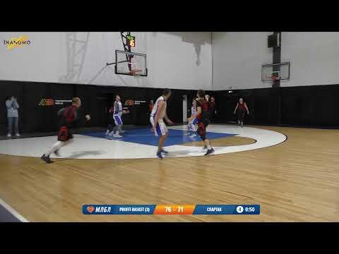 Profit Basket 3 Спартак Кокошкино Лига развития 1 Тур 11 Сезон 2019 20