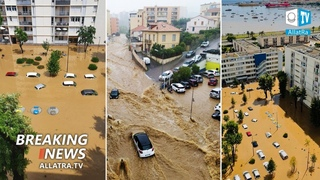 Flood in Europe?→ Serbia, Turkey, France. Giant hail in Canada, Mexico, and Morocco. Frost in Africa