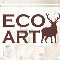 Логотип ECOART - Интерьерные изделия от Производителя