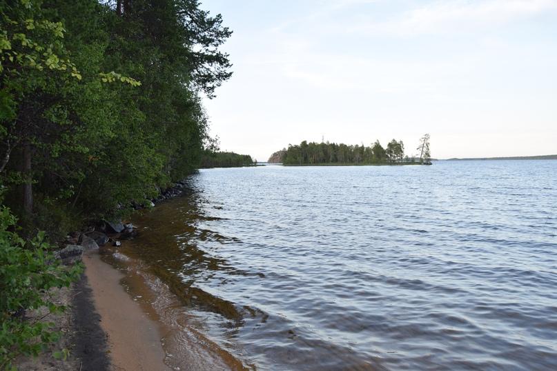 На берегу Плотичного озера