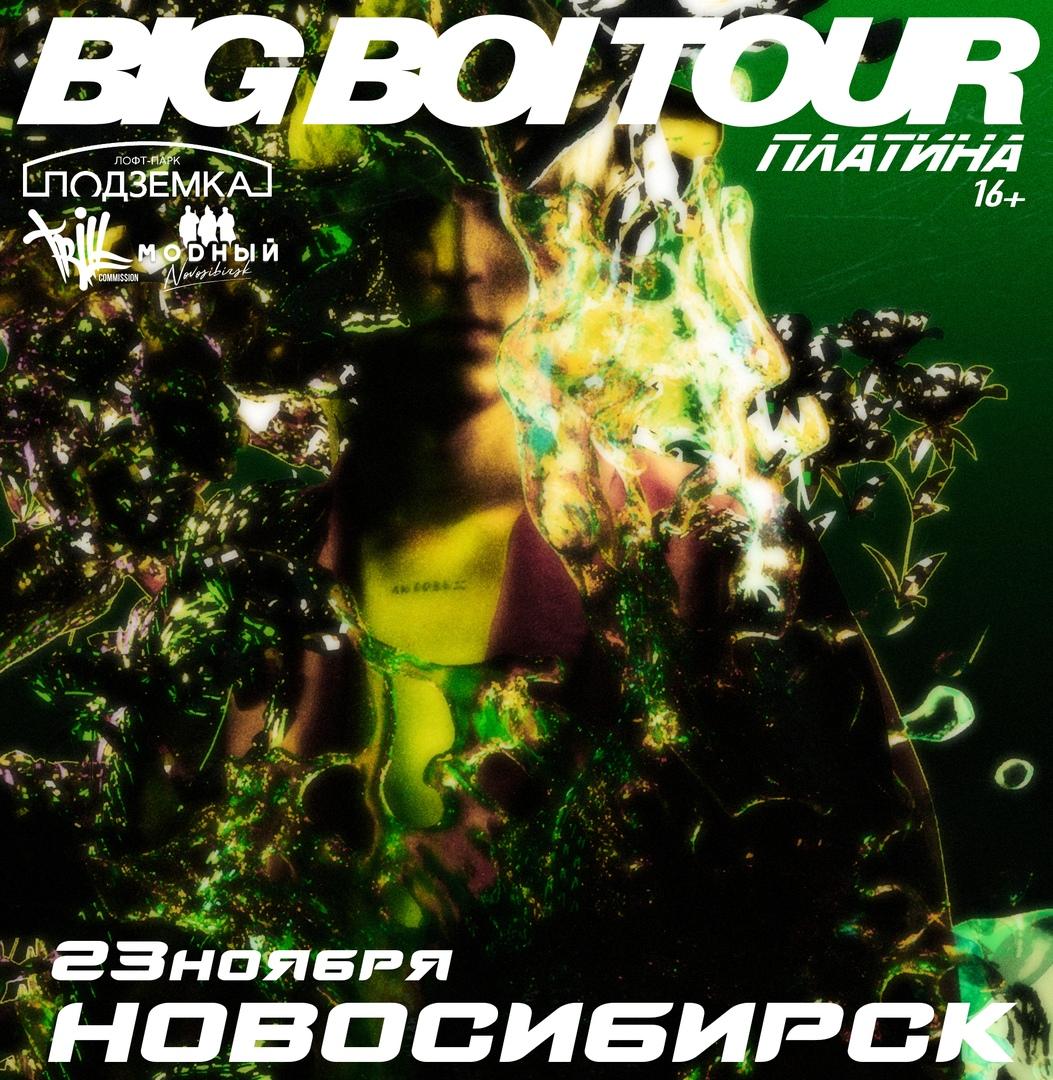 Афиша Новосибирск 23.11 / Платина / Новосибирск Подземка