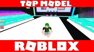 Зоя и Захар играют Top Runway Model ROBLOX GAME