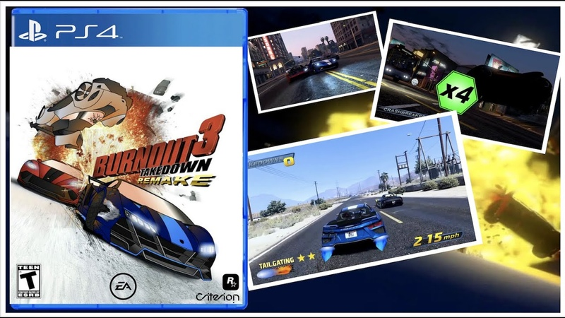 What if Burnout 3 Takedown™ had a Remake GTA Online