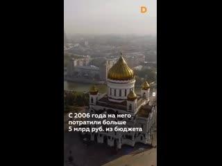 Храм Христа Спасителя. Какой бизнес процветает в его стенах#религия_опиум #религия #мракобесие #бизнес #политика #этика