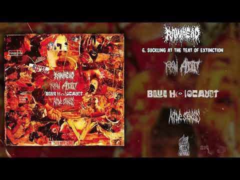 Rawhead Raw Addict Blue Holocaust Active Stenosis 4 way split CD FULL ALBUM 2020 Goregrind