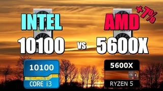 10100 vs 5600X - 2060S 💥 CSGO 💥 Fortnite 💥 PUBG 💥 GTAV 💥 Overwatch.