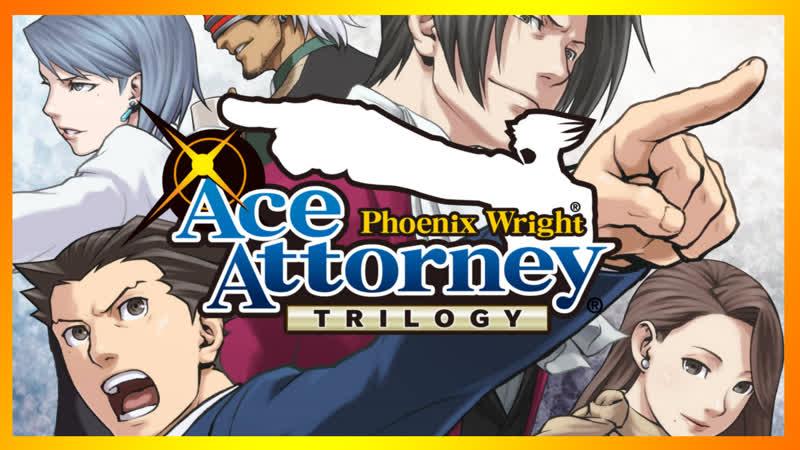 1 Phoenix Wright Ace Attorney Trilogy Легендарный адвокат ¬o  ̄  ̄メ