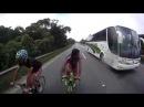 Bike Speed Recorde Vacuo 124 km h
