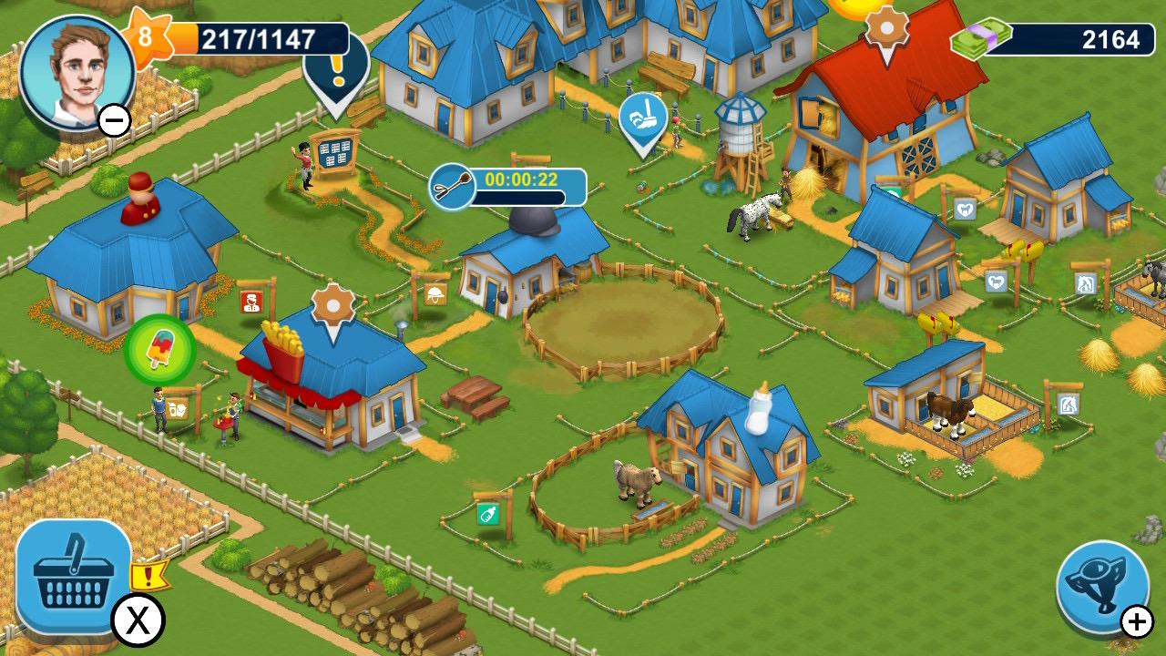 Обзор Horse Farm - Мобильный гейминг жив!, изображение №1