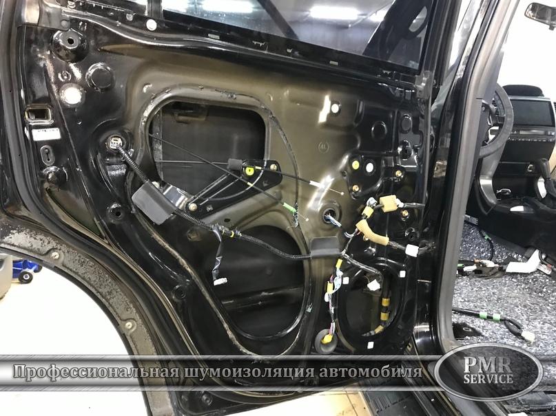 Комплексная шумоизоляция Toyota Land Cruiser 120, изображение №8
