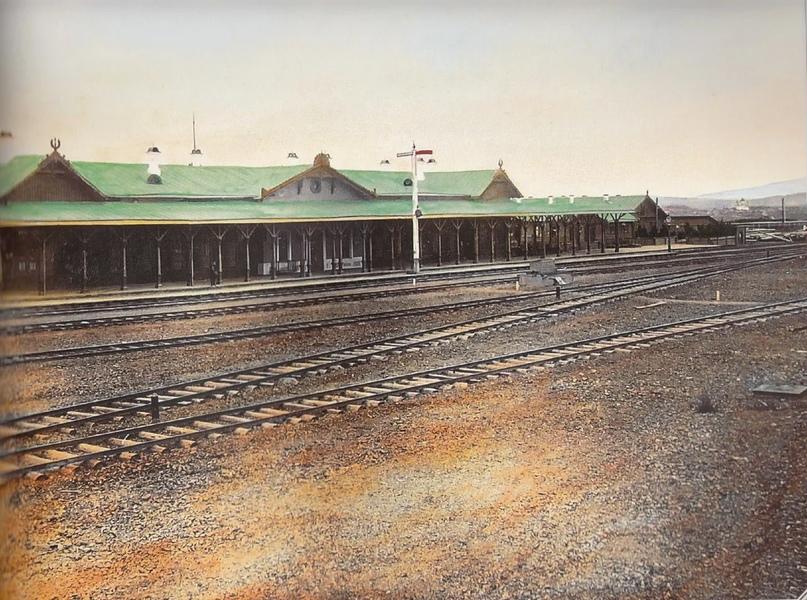 Первозданная железнодорожная Россия в цвете эпохи царской Империи глазами неизвестного фотографа, изображение №15