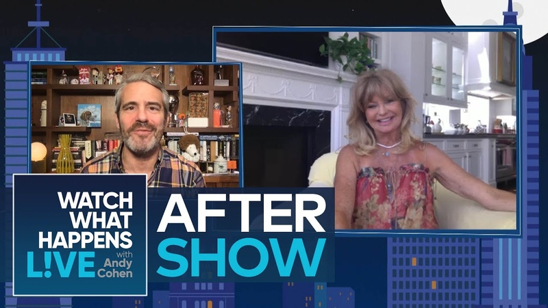 After Show Goldie Hawn Harvey Weinstein's Working Relationship WWHL