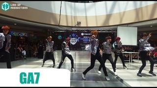 160417 GA7 as GOT7 at the 2016 Kpop Cover Dance Festival - Manila